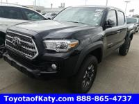 Options:  2017 Toyota Tacoma Trd Offroad|Black|Thank