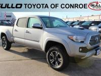 Silver 2017 Toyota Tacoma TRD SportLet the team at
