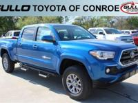 Blue 2017 Toyota Tacoma SR5Let the team at Gullo Toyota