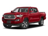 Here is the newly designed Tacoma! This 4X4 Double cab