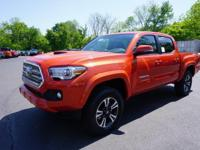 Options:  2017 Toyota Tacoma Trd Sport|Orange|2017
