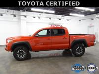 Toyota Certified. TRD Offroad 4wd, 120V/400W Deck