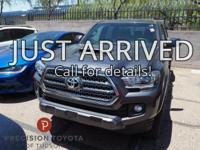 Tacoma TRD Sport, 4D Double Cab, V6, 6-Speed, 4WD,