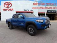 2017 Toyota Tacoma TRD Offroad 4WD.Email us or Call and