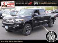 Options:  2017 Toyota Tacoma Trd Sport Double Cab 6'