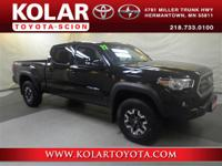 Tacoma TRD Offroad V6, 4D Double Cab, 4WD, ONE Owner
