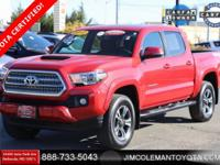 **TOYOTA CERTIFIED** **NAVIGATION** **TRD SPORT 4WD**