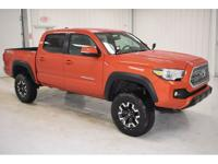 One Owner 2017 Toyota Tacoma TRD Offroad is equipped