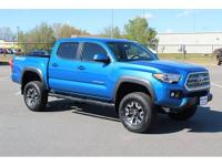 This is the tacoma to have! Blazing blue indeed! It's