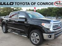 Black 2017 Toyota Tundra 1794  Let the team at Gullo