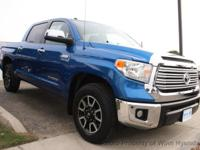 This 2017 Toyota Tundra CrewMax 4dr Limited Pickup 4D 5