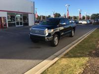 This 2017 Toyota Tundra 4WD Limited is offered to you