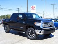 This 2017 Toyota Tundra 4WD Limited  will sell fast!