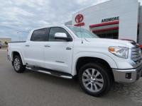 Recent Arrival! New Price! 2017 Toyota Tundra Clean