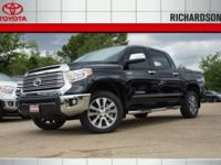 2017 Toyota Tundra Limited 4WD.  Options:  4.30 Axle