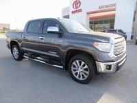 2017 Toyota Tundra Limited 4D CrewMax Magnetic Gray