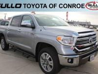 Silver 2017 Toyota Tundra 1794Let the team at Gullo