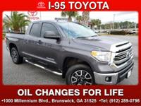 CARFAX One-Owner. Certified. 2017 Toyota Tundra SR Grey