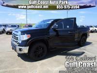 New Price! Black 2017 Toyota Tundra SR5 CrewMax RWD
