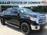 Black 2017 Toyota Tundra SR5  Let the team at Gullo