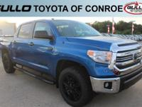 Blue 2017 Toyota Tundra SR5  Let the team at Gullo