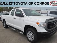 White 2017 Toyota Tundra SRLet the team at Gullo Toyota