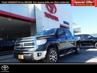 Nav System, Back-Up Camera, Flex Fuel, 4x4, SR5 UPGRADE