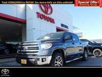 Navigation, Back-Up Camera, Flex Fuel, 4x4, SR5 UPGRADE