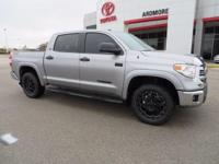 2017 Toyota Tundra SR5 4D CrewMax Silver Sky 4WD.We add