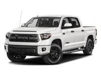 Looking for a clean, well-cared for 2017 Toyota Tundra