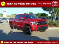 New Arrival! LOW MILES, This 2017 Toyota Tundra 4WD TRD