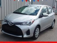 This one owner 2017 Toyota Yaris has automatic