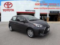 2017 Toyota Yaris LE 35/30 Highway/City MPGEmail us or