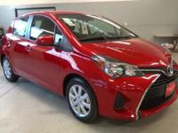 The Toyota Yaris hatchback features a suite of