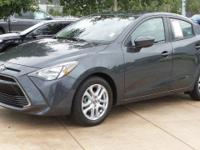 CARFAX One-Owner. Clean CARFAX. Gray 2017 Toyota Yaris