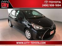 $2,345 off MSRP! Yaris LE, 5D Hatchback, 1.5L I4 DOHC