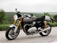 Brand-new 2017 Triumph Thruxton R 1200!  The ultimate