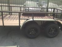 2017 UTILITY TRAILER 6.5'x12'X2' Tandem Axle (2 axles)