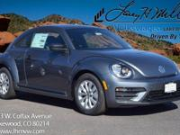 This turbocharged Platinum Gray 2017 Beetle S comes