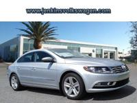 The Volkswagen CC is known for its sleek good looks and