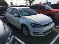 2017 Volkswagen Golf Pure White TSI S 4 Door 1.8L I4