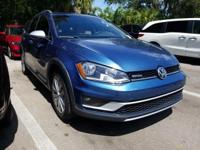 CARFAX One-Owner. Clean CARFAX. Blue 2017 Volkswagen