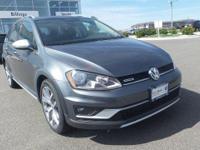Platinum Gray Metallic 2017 Volkswagen Golf Alltrack