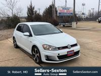 Check out this gently-used 2017 Volkswagen Golf GTI we