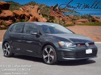 This turbocharged Carbon Steel Gray 2017 GTI S comes