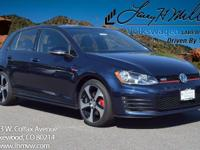 This turbocharged Night Blue 2017 GTI S comes with