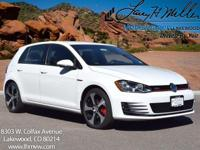 This turbocharged Pure White 2017 GTI S comes with