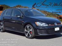 This turbocharged Deep Black Pearl 2017 GTI S comes