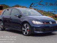 This turbocharged Night Blue 2017 GTI SE comes with