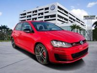 Welcome in the 2017 Volkswagen Golf GTI. Making a